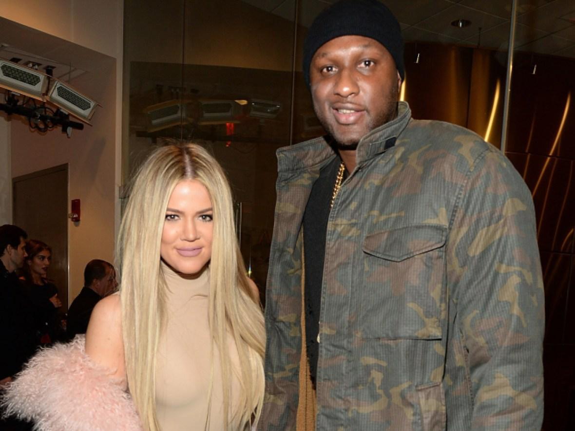 khloe kardashian and lamar odom (getty images)
