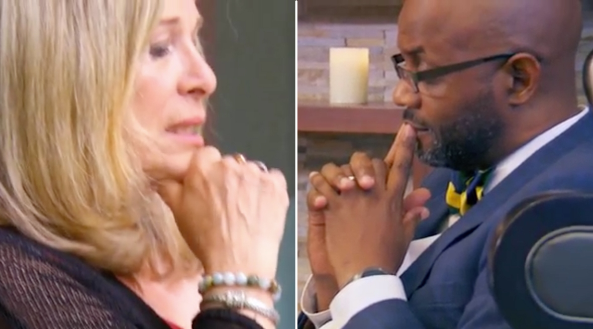 mafs experts thinking faces