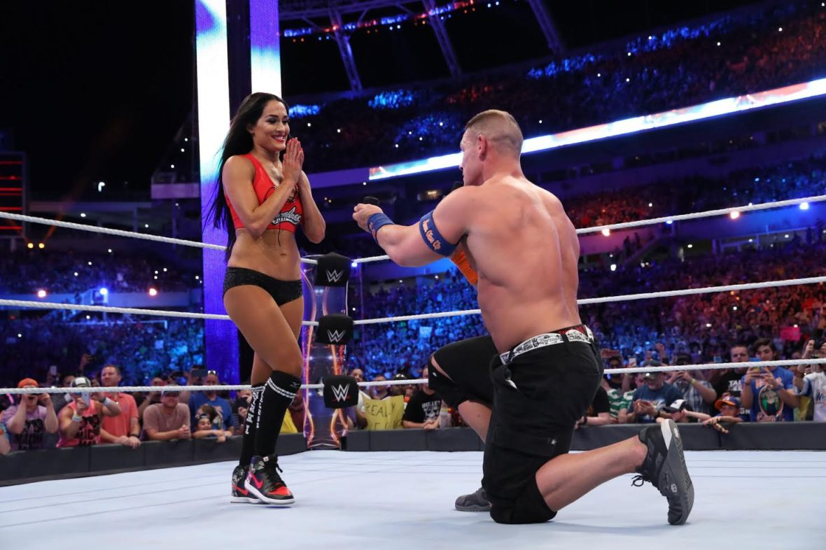nikki bella john cena proposal wwe