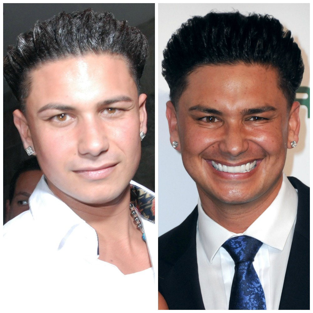 pauly d then/now