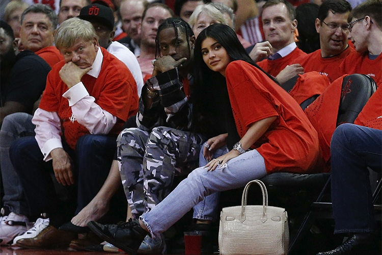 kylie jenner travis scott getty images