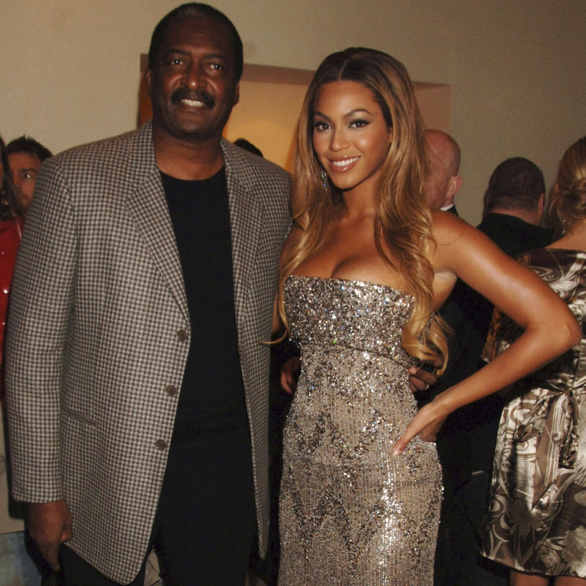 beyonce matthew knowles getty images
