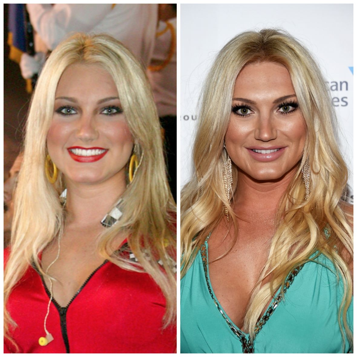 brooke hogan then and now getty