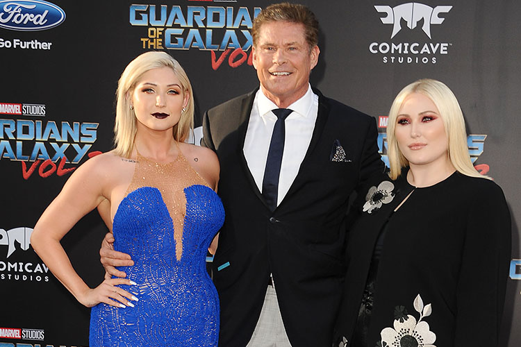 hayley hasselhoff dui getty images