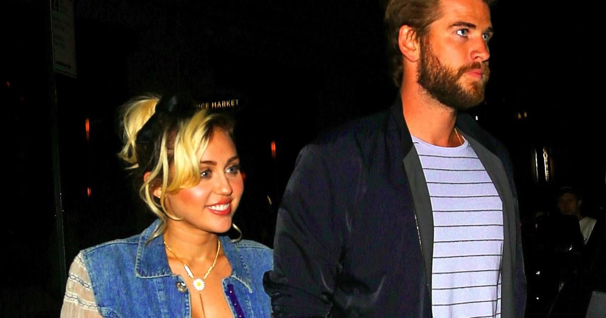 Miley Cyrus And Liam Hemsworth Pregnant Miley Cyrus Wor...