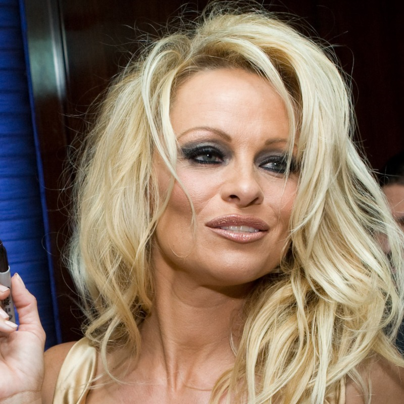 Pamela Anderson Debuts New Look On The Cannes Film Festival Red Carpet