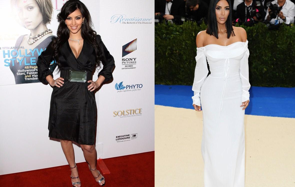 kim kardashian transformation