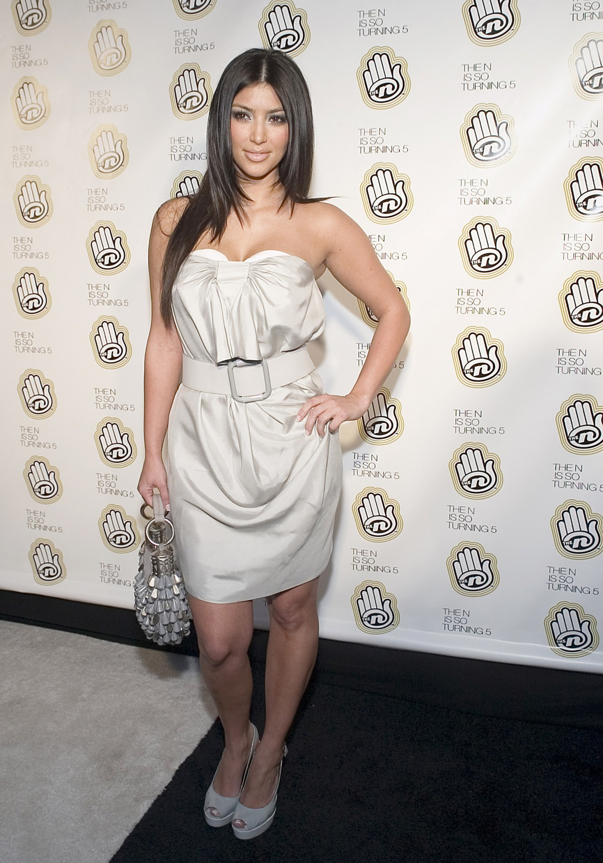 old picture of kim kardashian - getty