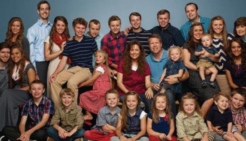 full duggar family