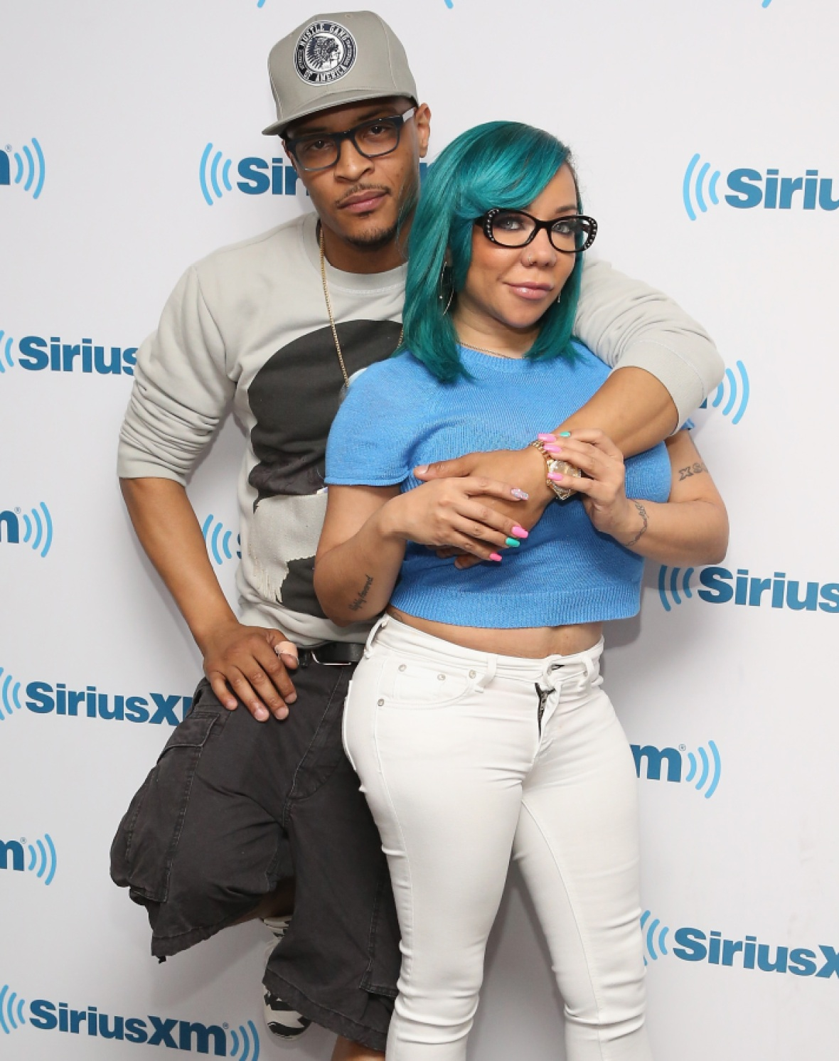 tiny and ti - getty images