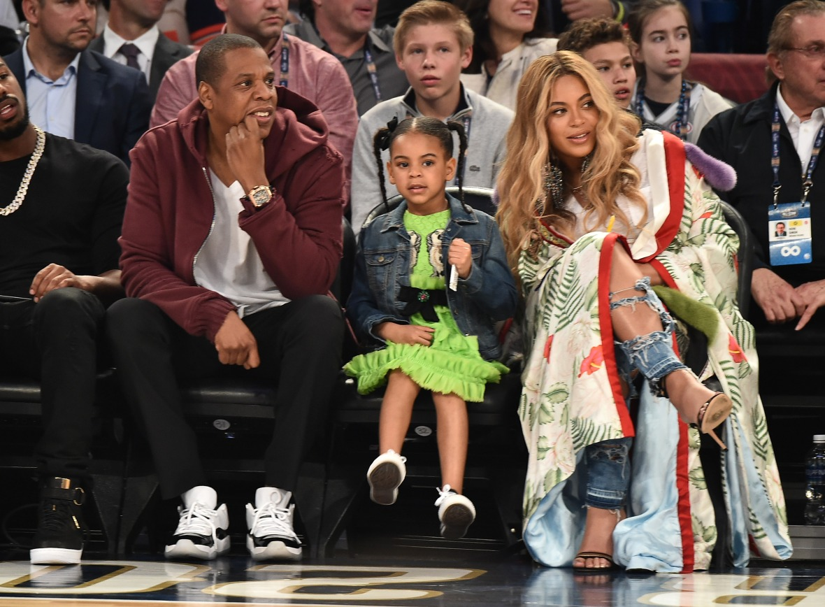 jay z bey blue ivy - getty images