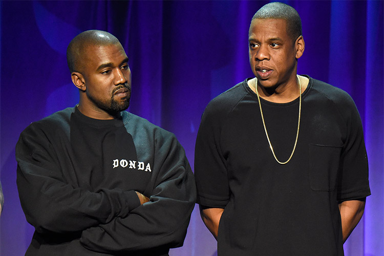 Jay z kanye west feud