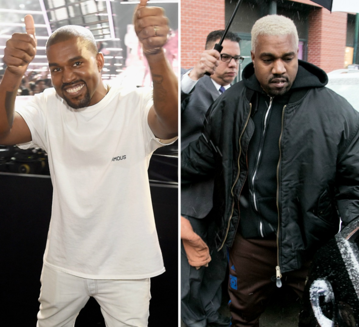 kanye west weight gain