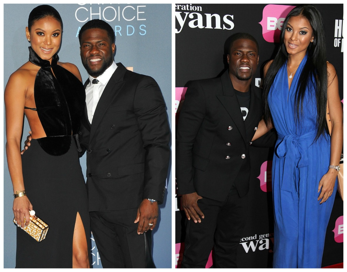 kevin hart torrei eniko parrish getty images
