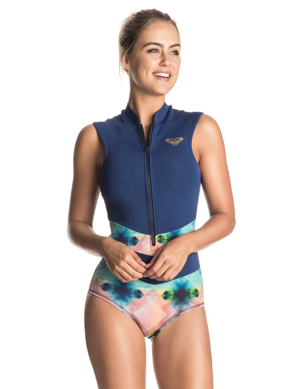 prime day 2017_itw - roxy women's pop surf sleeveless onesie one piece