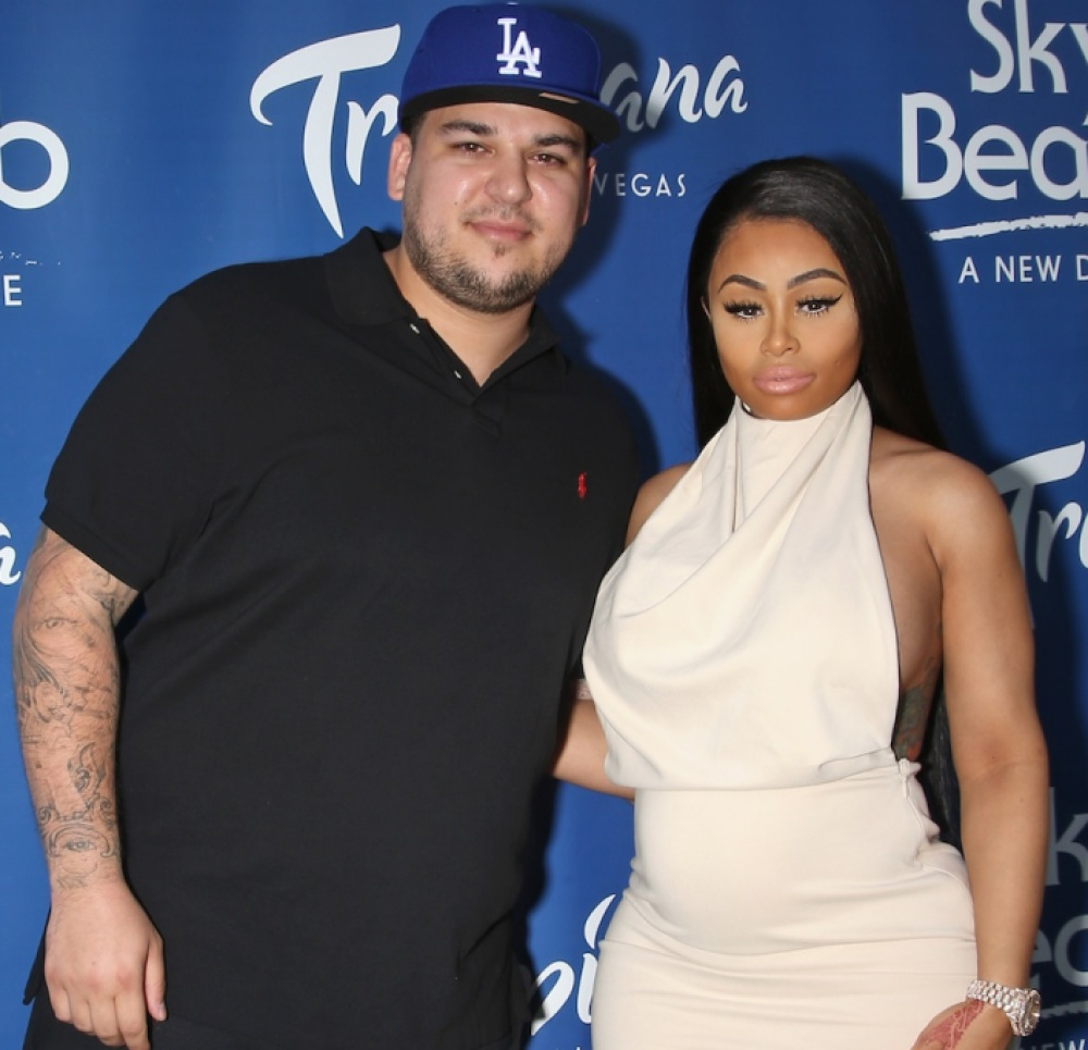 blac chyna rob kardashian getty images