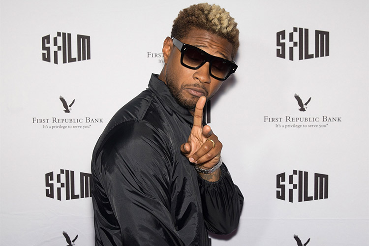 usher getty images