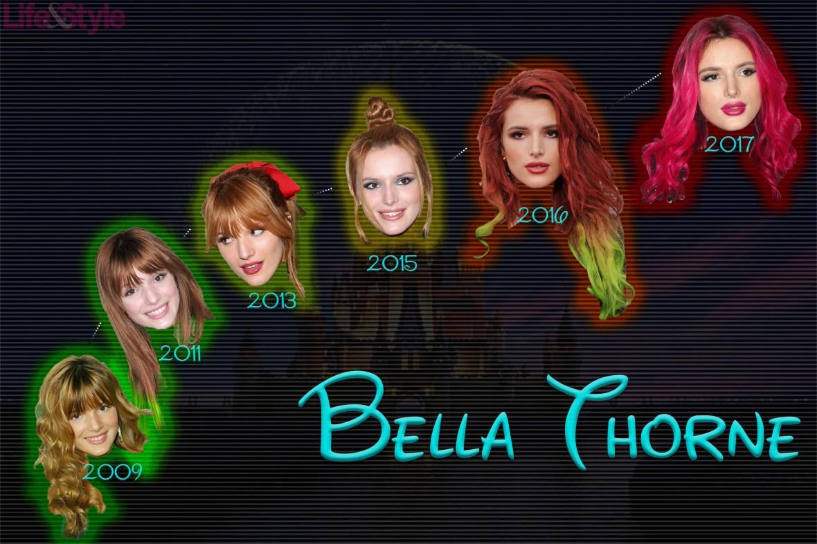 bella thorne chart