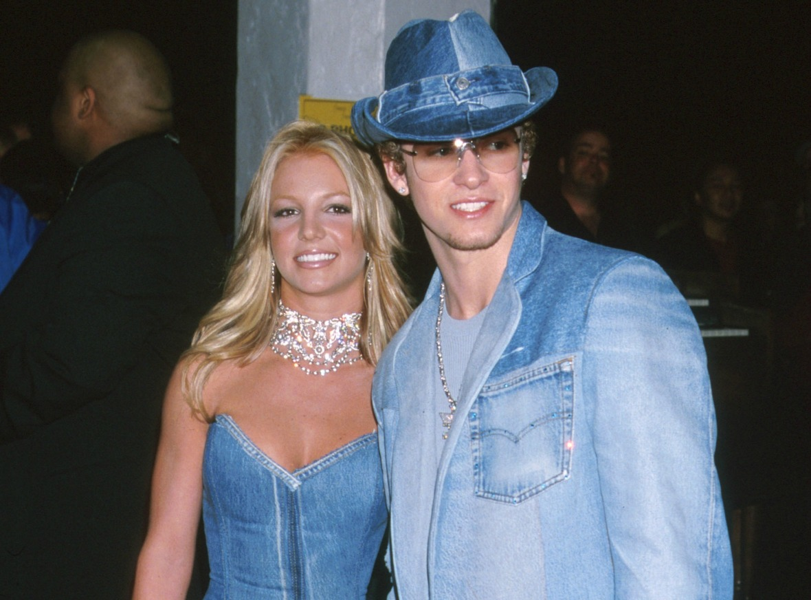 britney spears justin timberlake getty images