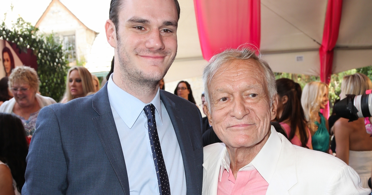 Hugh Hefner's Son Cooper Speaks out About His Father's Declining Health
