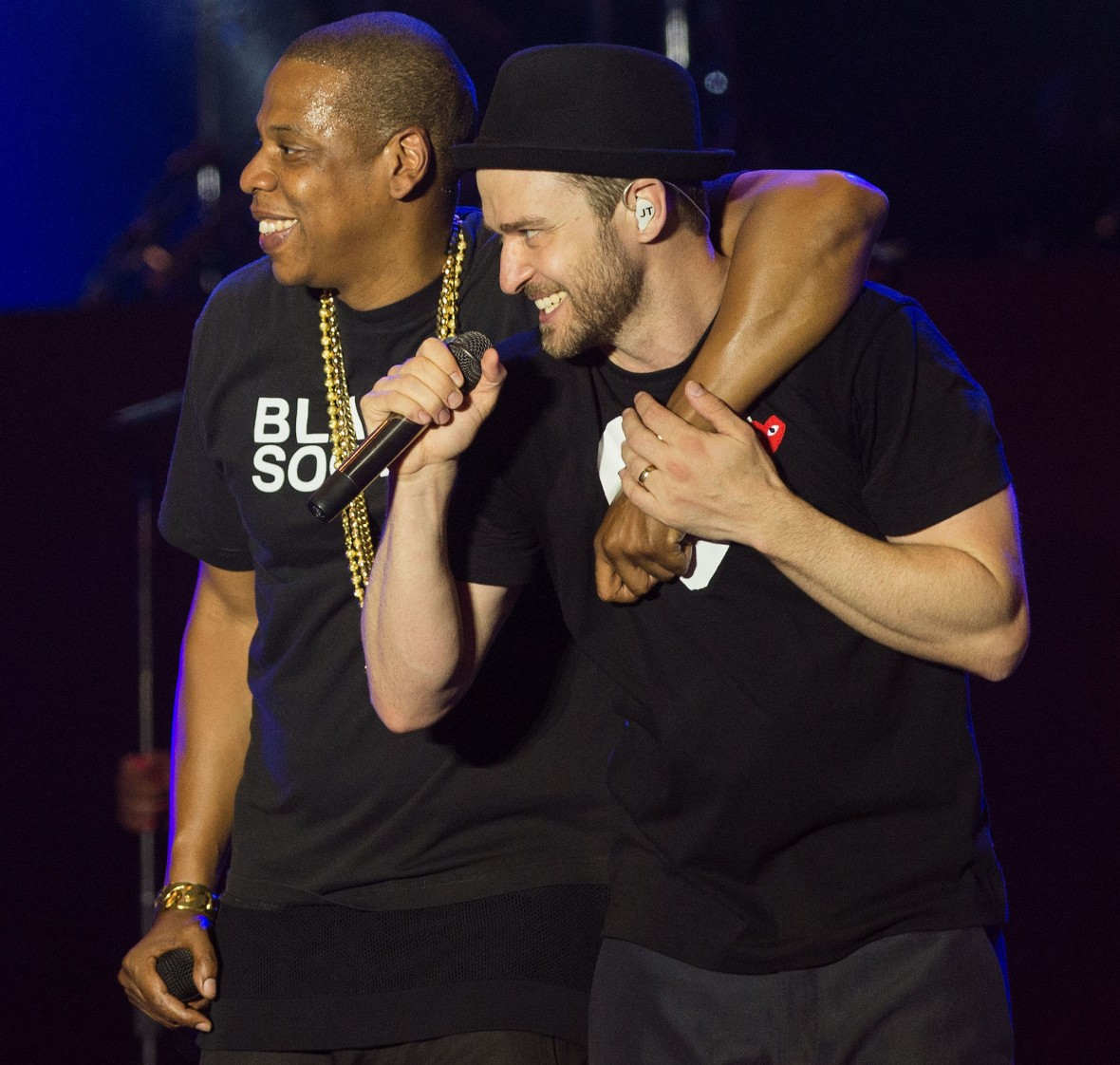 justin and jay-z