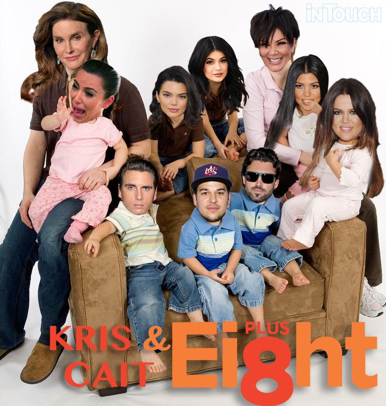 kris and cait plus eight
