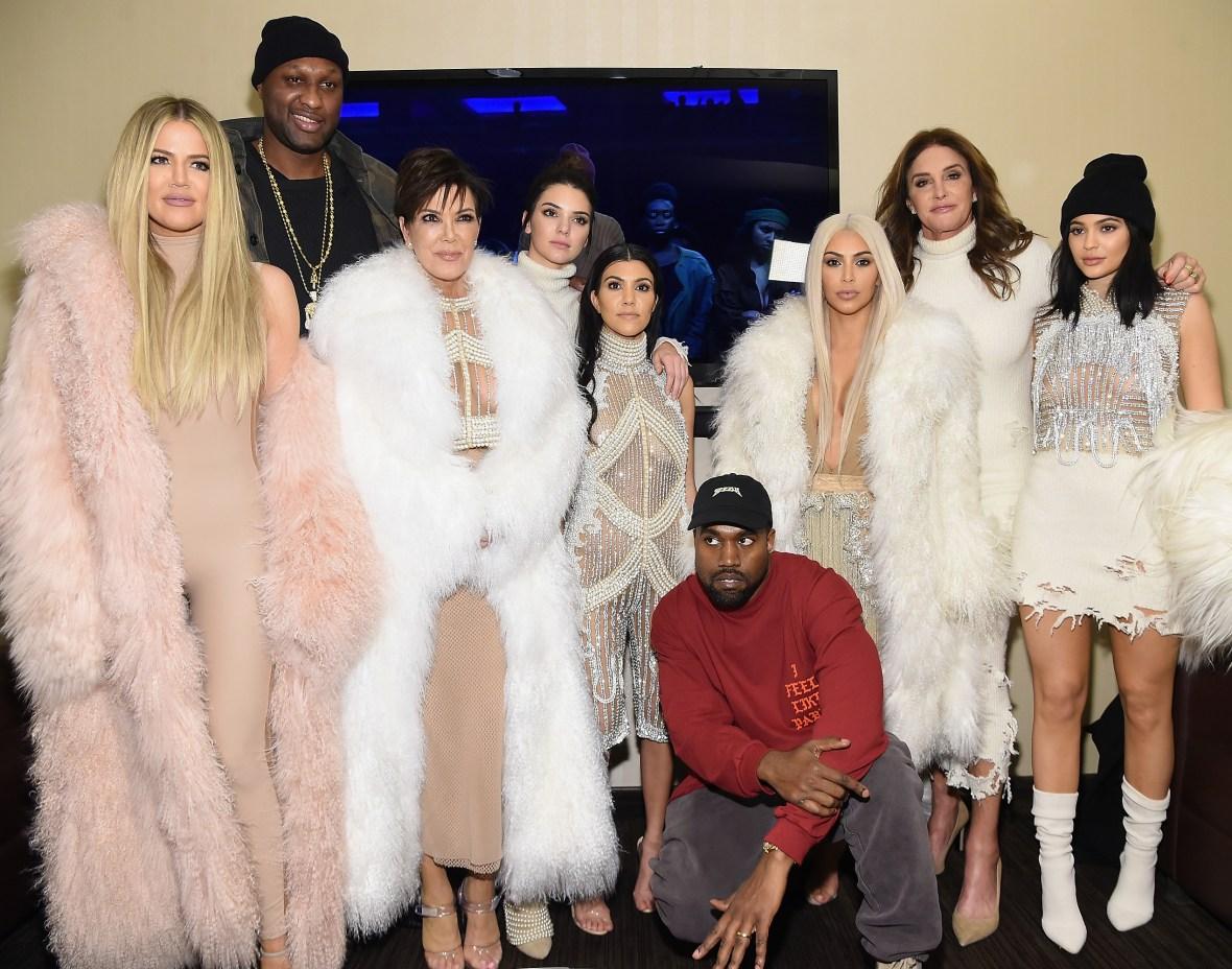 lamar odom kardashians jenners getty images