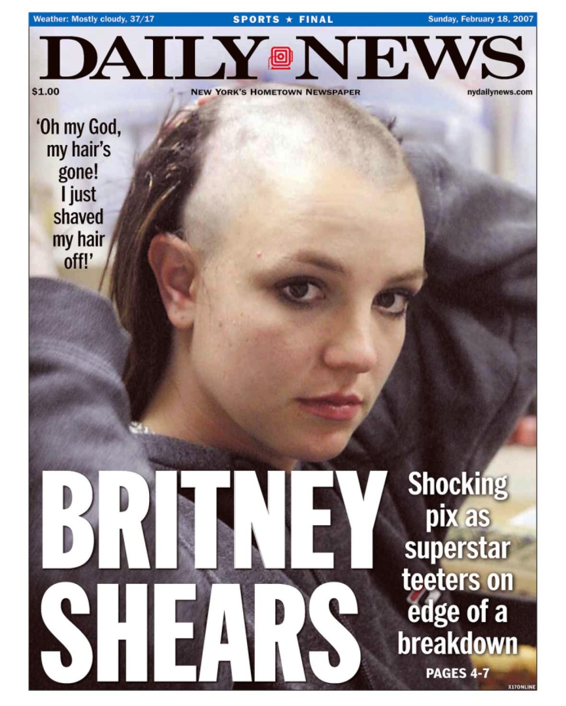 britney spears 2007 breakdown - getty