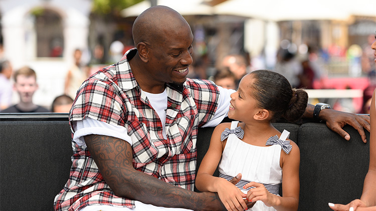 tyrese and shayla getty images