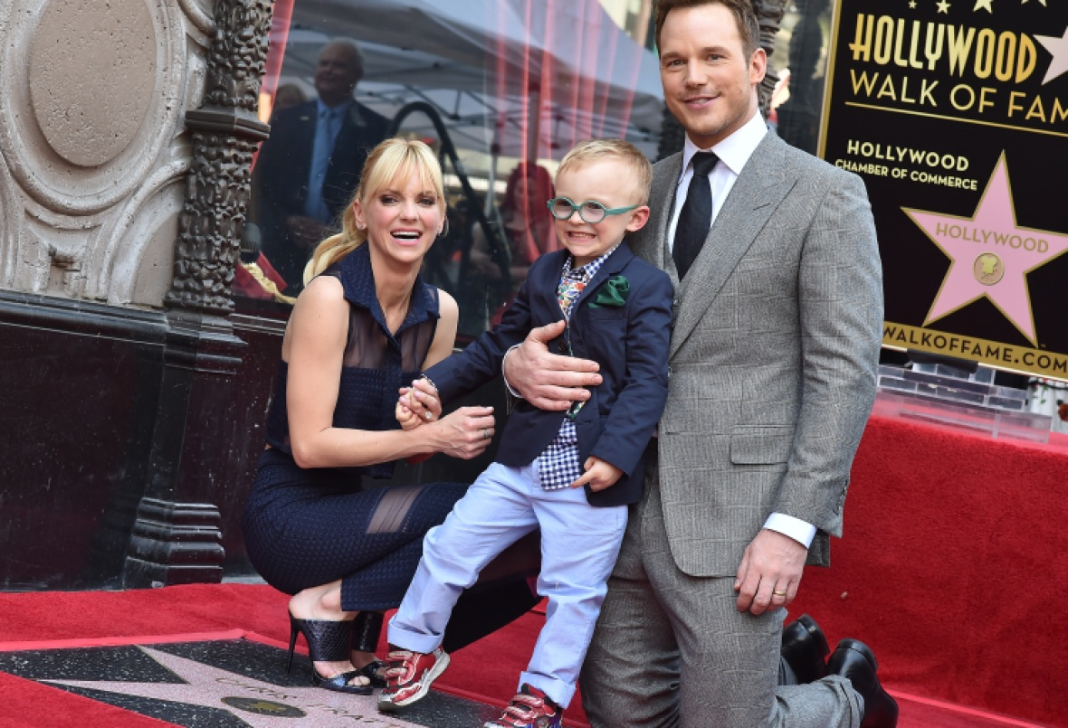 anna faris chris pratt and son jack 2 — getty