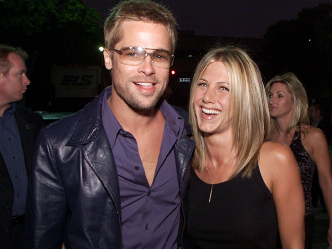 brad pitt and jennifer aniston getty images