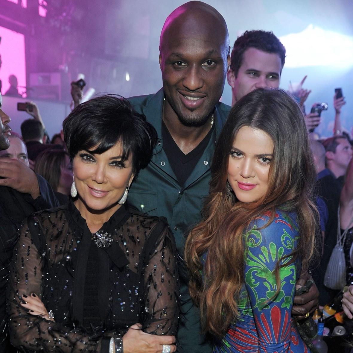 khloe kardashian lamar odom kris jenner getty images