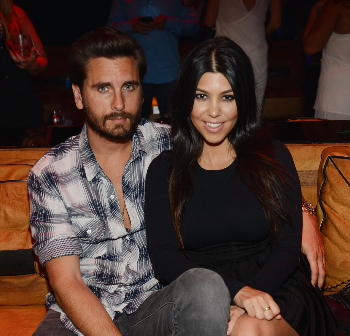 scott disick kourtney kardashian - getty