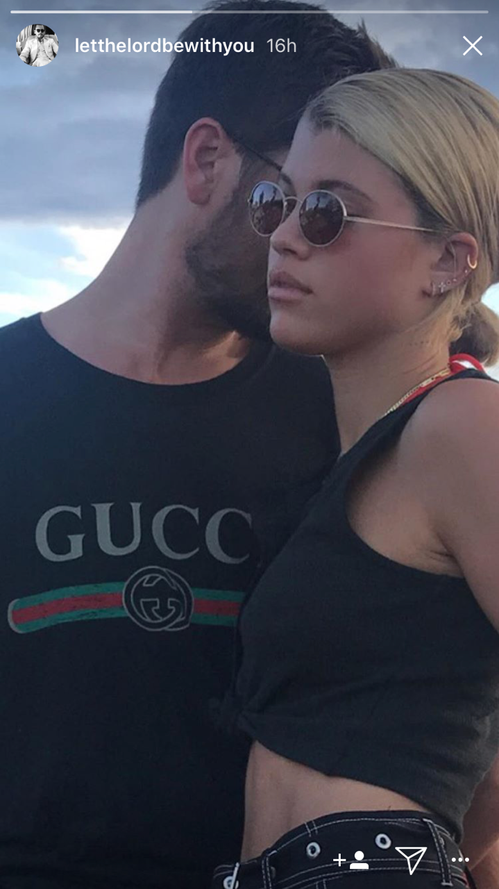 scott disick sofia richie instagram