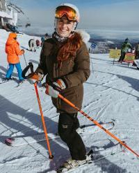 Audrey Roloff Skiing