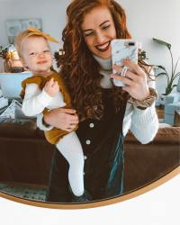 Audrey Roloff Selfie With Ember