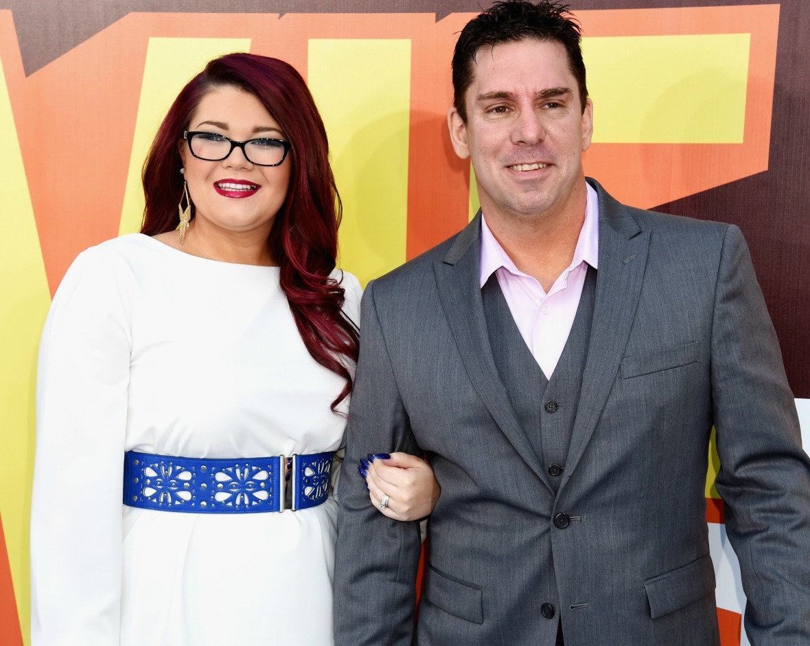 amber portwood matt baier getty images
