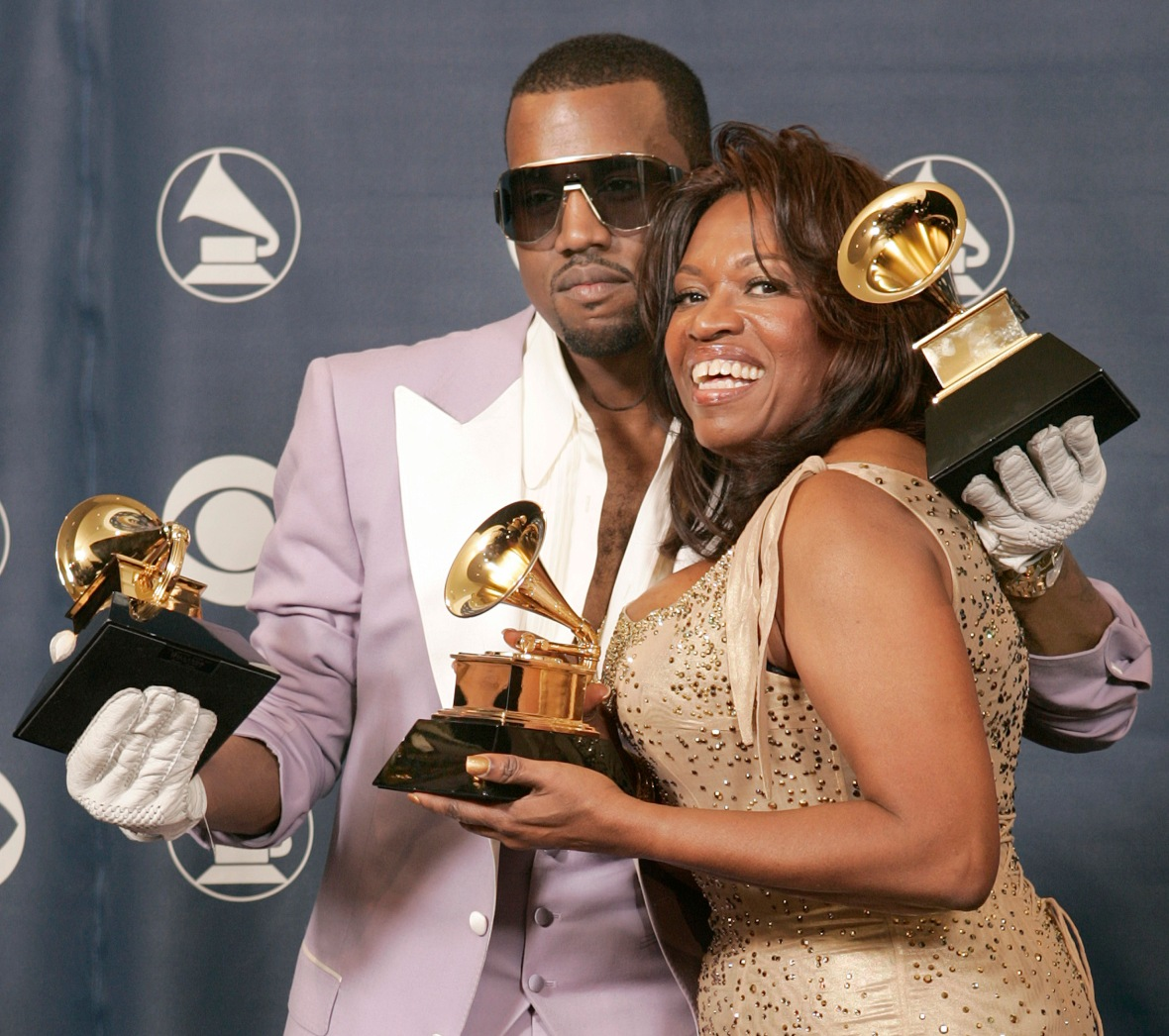 kanye west mom donda west getty images