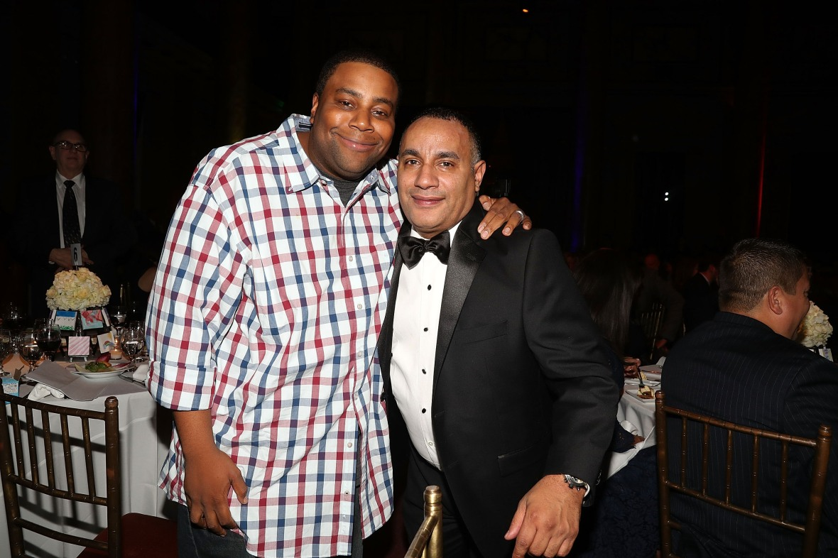 "kenan thompson john ""gungie"" rivera getty images"