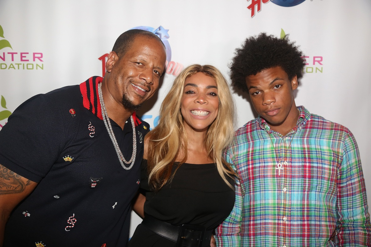 wendy williams kevin hunter kwevin hunter jr. - getty