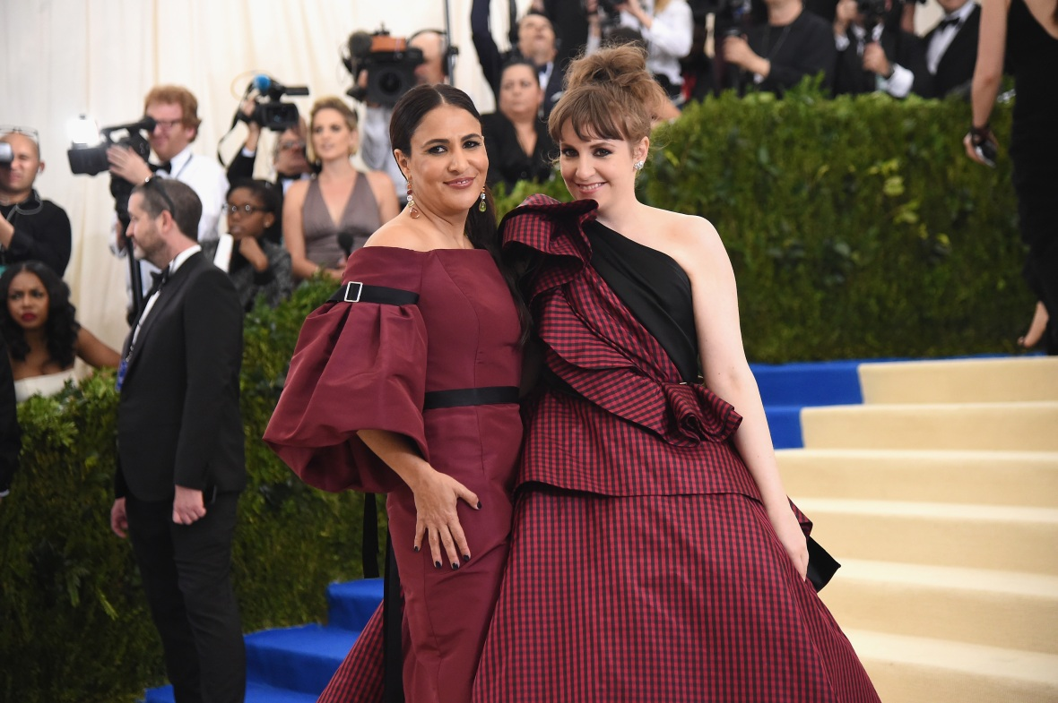 lena dunham jenni konner getty images