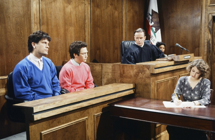 menendez trial snl —getty
