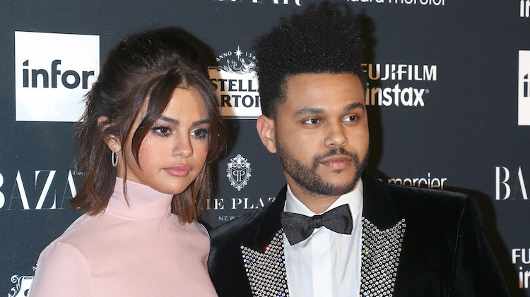 Abel Tesfaye And Selena Gomez