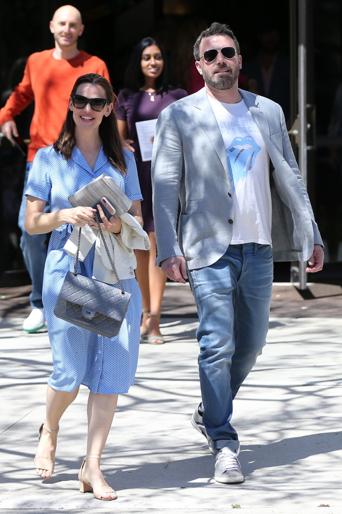 jennifer garner ben affleck splash