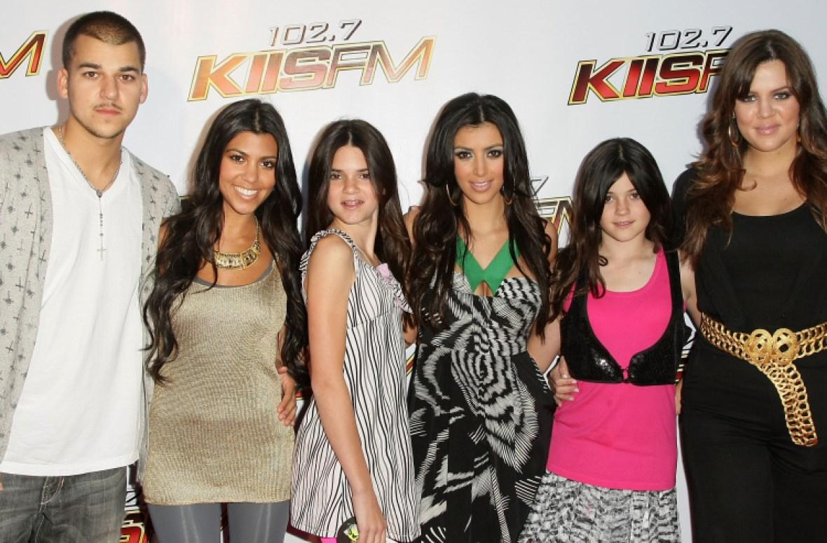 kardashian family getty