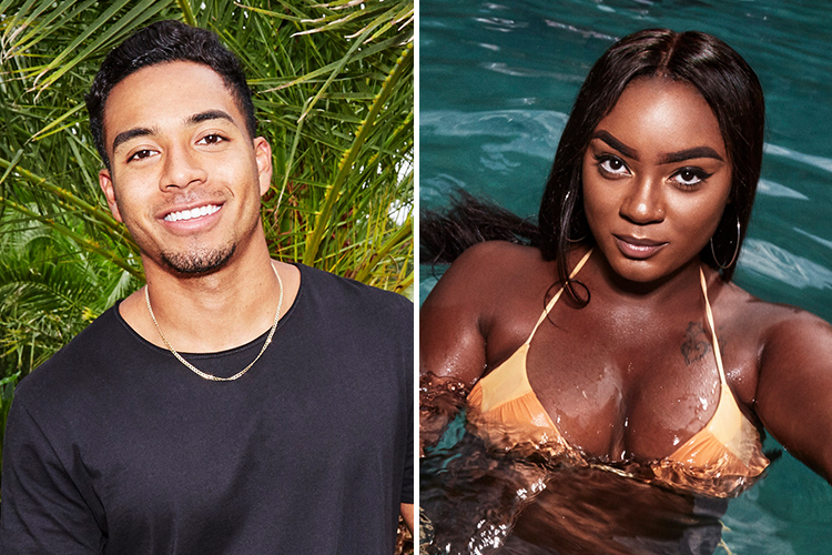 dimitri and jada on 'are you the one'