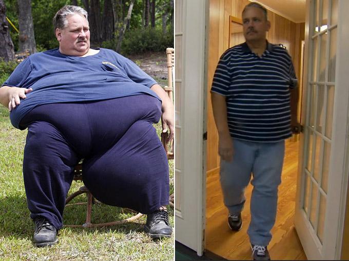 chuck turner, weight loss