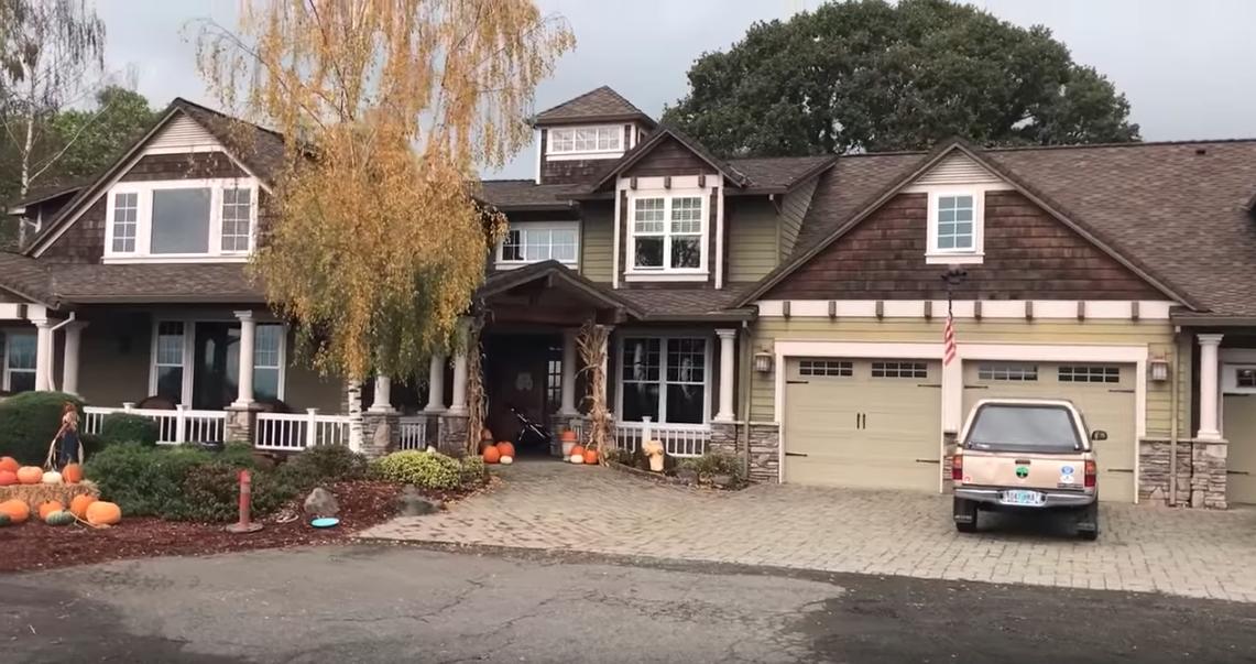 Jacob Roloffs Hus i Oregon, USA