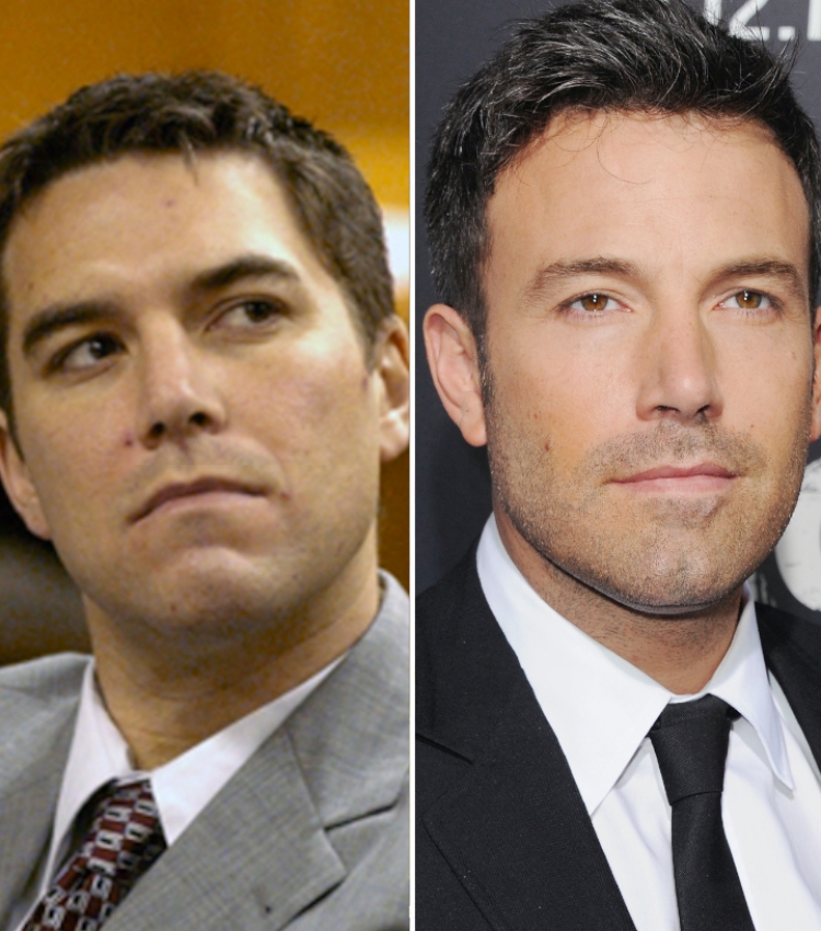 scott peterson ben affleck — getty images