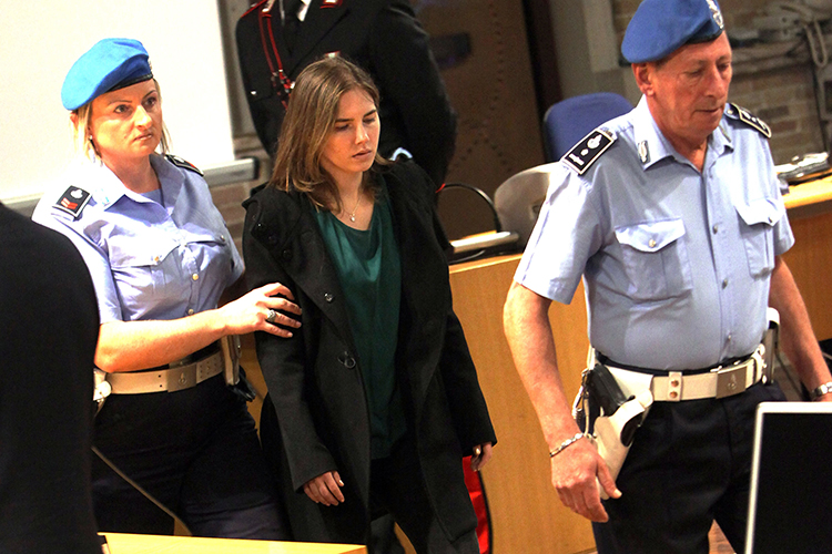 amanda knox 2011 getty images